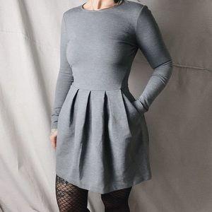 ARITZIA TALULA Tartine Structured Fit Flare Dress